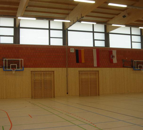 Sporthalle in Werder (Havel)